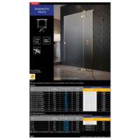 Shower enclosure Essenza Pro KDJ+S Catalogs