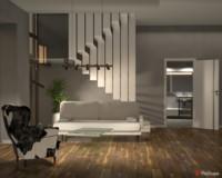 Futuristic interior | Warsztaty Wizualizacji PRO