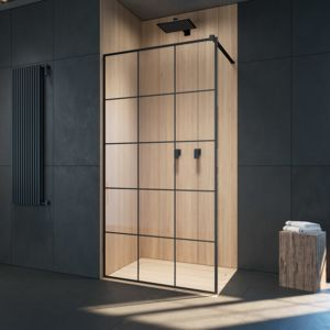 Kabina prysznicowa Walk-in: Modo X / Modo New Black II Factory