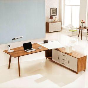 Nowoczesne biurko z pomocnikiem EVOLUTIO A309