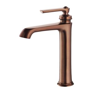ARMANCE AM5212/1ORB - Tall basin mixer with click-clack waste, oil-rubbed bronze