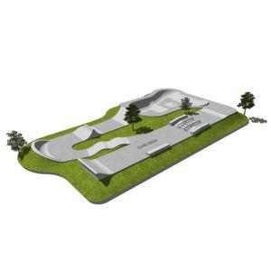 Skatepark 600 m2