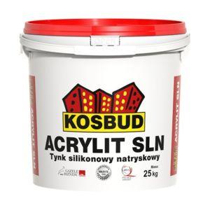 """ACRYLIT-SLN tynk silikonowy natryskowy """"baranek"""""""