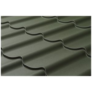 The FLORINA metal roof tile