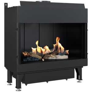 Gas fireplace LEO 70 for propane gas