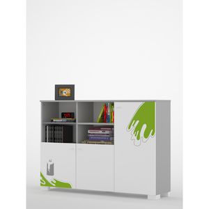Bookcase YO 150 low GRAFFITI ART