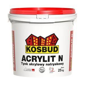 ACRYLIT N – tynk akrylowy natryskowy