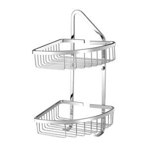 UNI UN3510CR - Corner shower basket, chrome