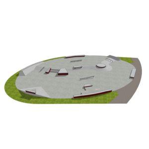 Skatepark betonowy nr 012014