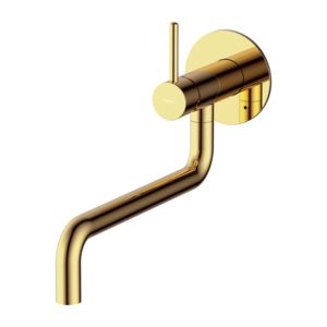 Y Y1256GL - Sink mixer for concealed installation, gold