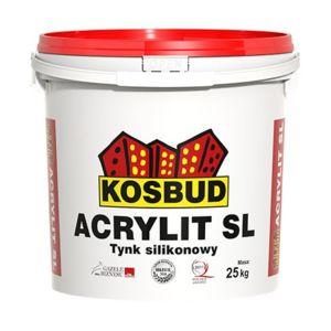 "ACRYLIT-SL - tynk silikonowy ""kornik"""