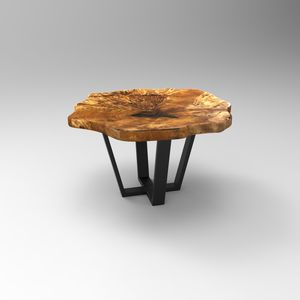 stolik kawowy Slice of black poplar