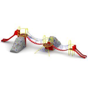 Skalnik Playground Set with Climbing Boulders
