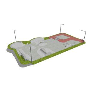 Skatepark betonowy nr 172015