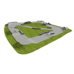 Skatepark betonowy nr 212014