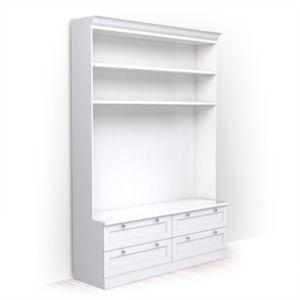 Bookcase 48x170x240 - classic line
