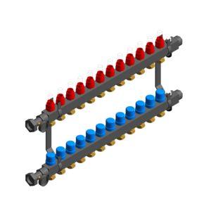 Stainless steel modular manifolds