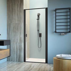 Shower doors Nes 8 / Nes Black DWJ I Frame