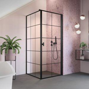 Shower enclosure Nes 8 / Nes Black KDJ I Factory