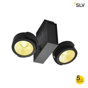 TEC Kalu aluminium LED podwójna czarna