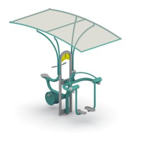 Shade Structure for Outdoor Gym Tytan