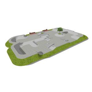 Skatepark betonowy nr 092015