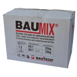 BAUMIX - Stalowe włókna zbrojeniowe