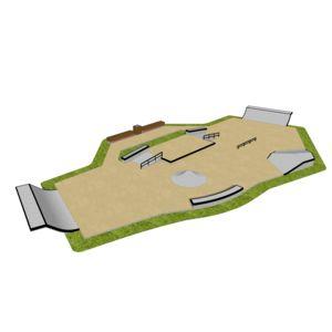 Skatepark 275 m2