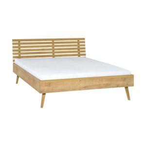 Łóżko ze szczytem ażurowym Nature
