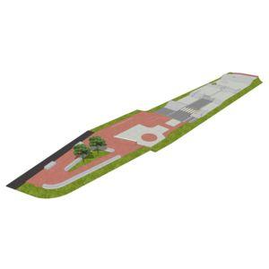 Skatepark 1065 m2