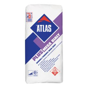 ATLAS PLUS MEGA WHITE - white, deformable S1 adhesive for large size floor tiles (C2E type)