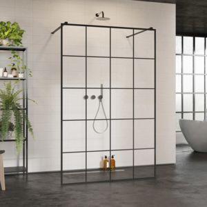 Shower enclosure Walk-in: Modo X / Modo New Black I Factory