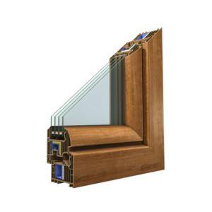 Okno dwukwaterowe z ruchomym słupkiem R+RU