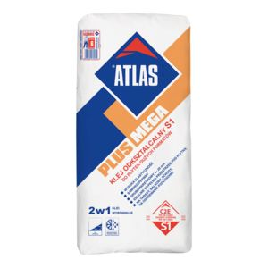ATLAS PLUS MEGA - deformable S1 adhesive for large size floor tiles (C2E type)