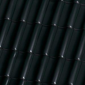 tobago czarnobrązowa glazurowana