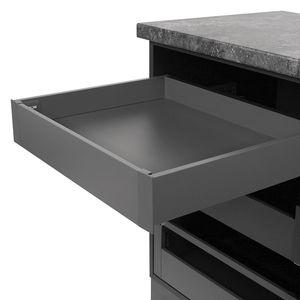 Slim Box szuflady wewnętrzne z frontem metalowym