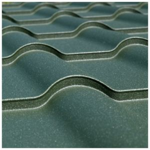 The EUROPA metal roof tile
