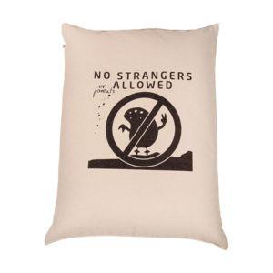 Poducha - siedzisko No strangers