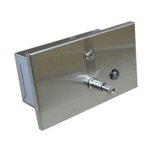 Horizontal liquid soap dispenser 1,2l (recessed)