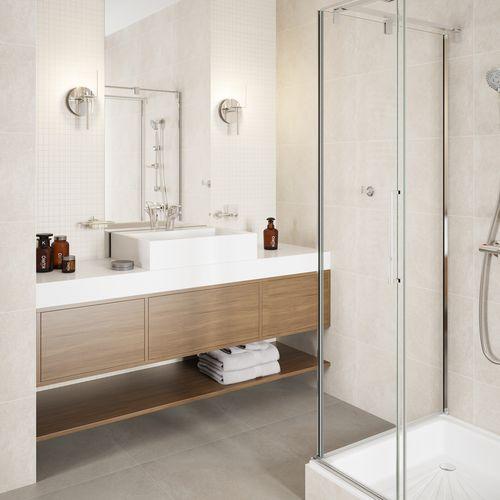 Prysznic w nowoczesnych aranżacjach łazienkowych