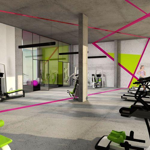 Koncepcja fitness klubu - Towarowa