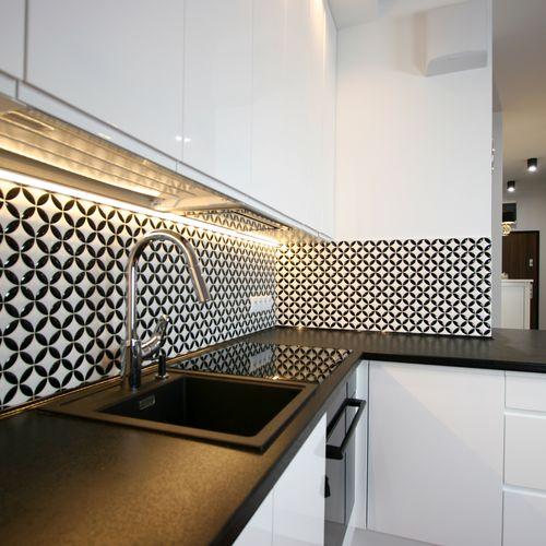 Kuchnia w apartamentowcu
