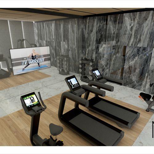 Domowa sala fitness