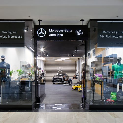 Mercedes. Galeria Handlowa Arkadia