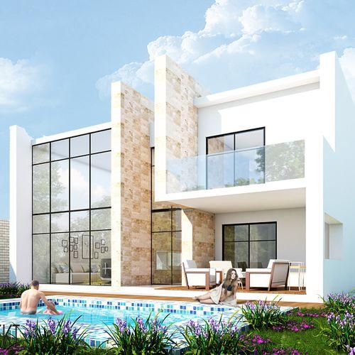 Dom z basenem, Libres