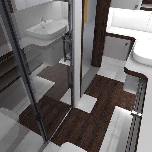 Projekt i realizacja łazienki wraz z nadzorem