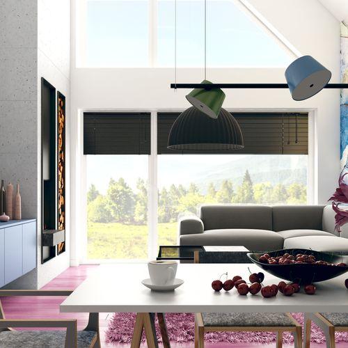 Pink floor house