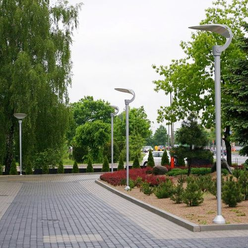 Modern streetlights