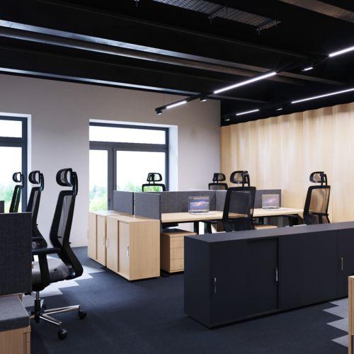 Wnętrze Biurowe - SARNA ARCHITEKCI