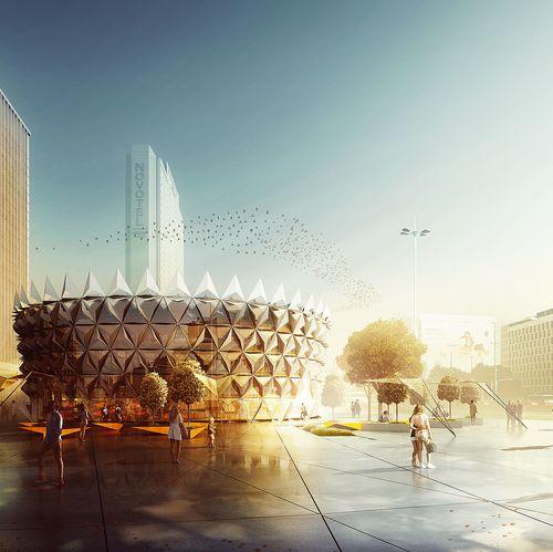 Rotunda, Warszawa